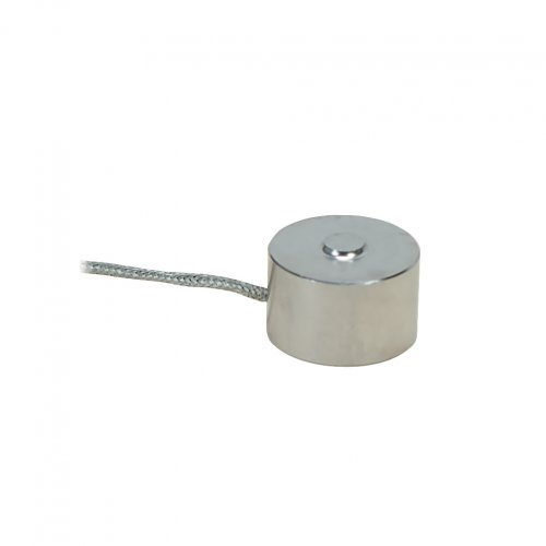 Button Style Load Cell 0-100 N to 0-5 kN Diameter 19 mm - Load cell range: 102,0 kgF (1 kN)
